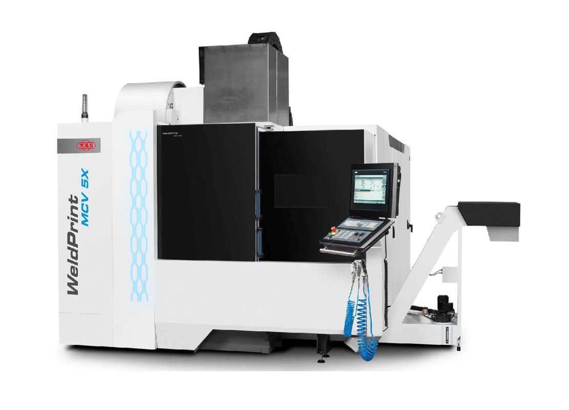 Český hybridní stroj Weldprint MCV 5X vyvinul Kovosvit MAS ve spolupráci s ČVUT.
