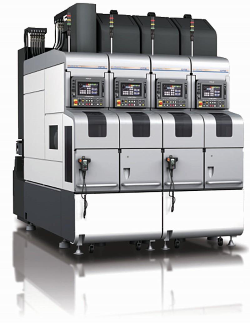Modulový obráběcí systém FUJI DLFn od firmy NEWTECH řeší problém s nedostatkem pracovních sil a minimalizuje zastavěnou plochu ve výrobě.