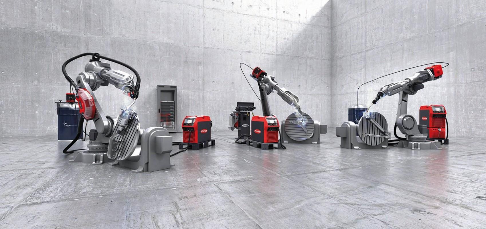 Fronius spojil výhody své nejnovější platformy MIG/MAG svařovacích robotů s nejstabilnějším obloukem.