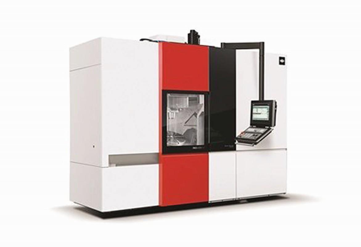Prototyp multifunkčního obráběcího centra MCU450 z produkce Kovosvitu MAS ukazuje možnosti digitalizace výroby s řešením Sinumerik Intergate od Siemensu.